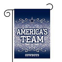 Dallas Cowboys Garden Flag with Pole