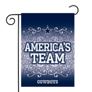 Dallas Cowboys Garden Flag with Pole