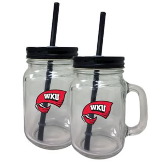 Western Kentucky Hilltoppers Mason Jar Set