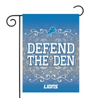 Detroit Lions Garden Flag with Pole