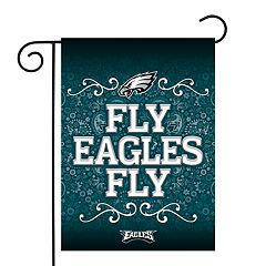 Philadelphia Eagles Garden Flag with Pole