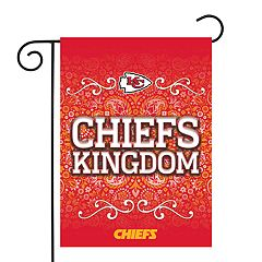 Kansas City Chiefs Garden Flag with Pole