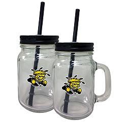 Wichita State Shockers Mason Jar Set
