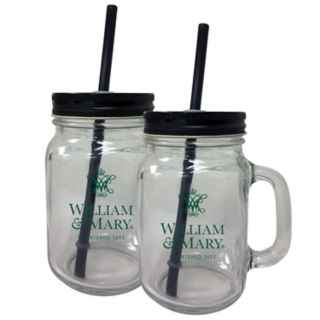 William & Mary Tribe Mason Jar Set