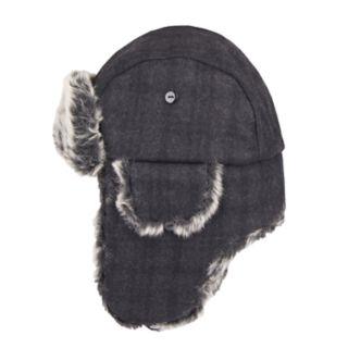 Men's Dockers® Plaid Faux-Fur Trapper Hat