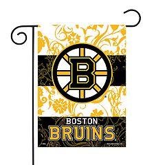 Boston Bruins Garden Flag with Pole