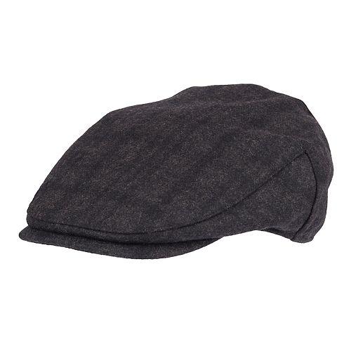 116ba912d0007 Men s Dockers® Plaid Flat-Top Wool-Blend Ivy Cap