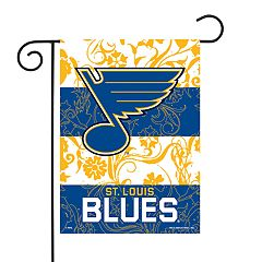 St. Louis Blues Garden Flag with Pole