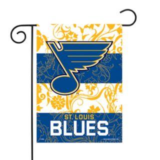 St. Louis Blues Garden Flag with Pole