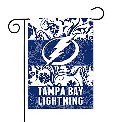 Tampa Bay Lightning Garden Flag with Pole