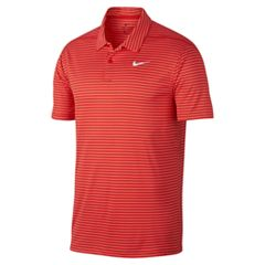Men's Nike Dri-FIT Striped Performance Golf Polo