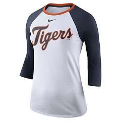 Women's Nike Detroit Tigers Raglan Tee