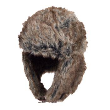 Men's Dockers Faux-Fur Trapper Hat