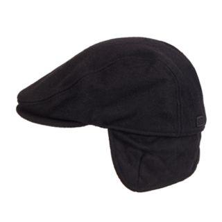 Men's Dockers® Solid Melton Wool-Blend Ear Flap Ivy Cap