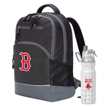 Boston Red Sox Backpack with 18-Ounce Water Bottle by Northwest