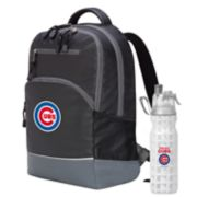 Chicago Cubs Backpack with 18-Ounce Water Bottle by Northwest