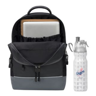 Los Angeles Dodgers Backpack with 18-Ounce Water Bottle by Northwest