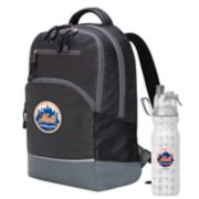 New York Mets Backpack with 18-Ounce Water Bottle by Northwest