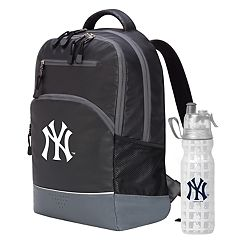 New York Yankees Backpack with 18-Ounce Water Bottle by Northwest