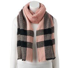 Women's LC Lauren Conrad Faux Fur Blanket Wrap Scarf