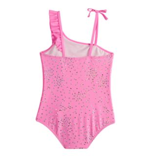 Girls 4-6x SO® I Heart You Sparkle One-Piece Swimsuit