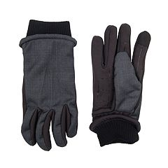Men's Dockers® InteliTouch Touchscreen Mixed Media Gloves