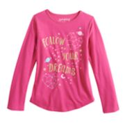"Girls 4-10 Jumping Beans® ""Follow Your Dreams"" Constellation Graphic Tee"