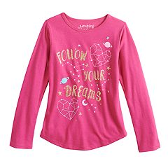 Girls 4-10 Jumping Beans® 'Follow Your Dreams' Constellation Graphic Tee