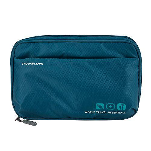 7a9c49f973 Travelon World Travel Essentials Tech Organizer