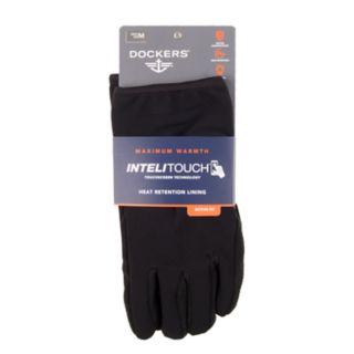 Men's Dockers® InteliTouch Touchscreen Stretch Gloves