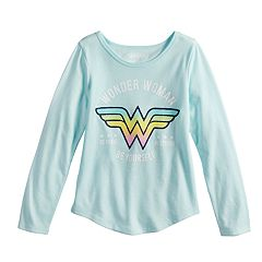 Girls 4-10 Jumping Beans® Wonder Woman 'Be Strong Be Brave Be Yourself' Graphic Tee