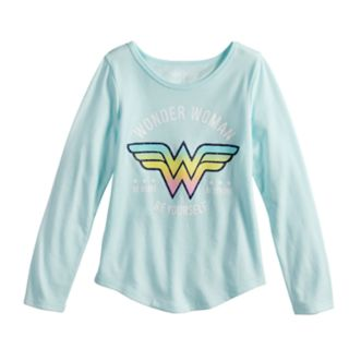 "Girls 4-10 Jumping Beans® Wonder Woman ""Be Strong Be Brave Be Yourself"" Graphic Tee"