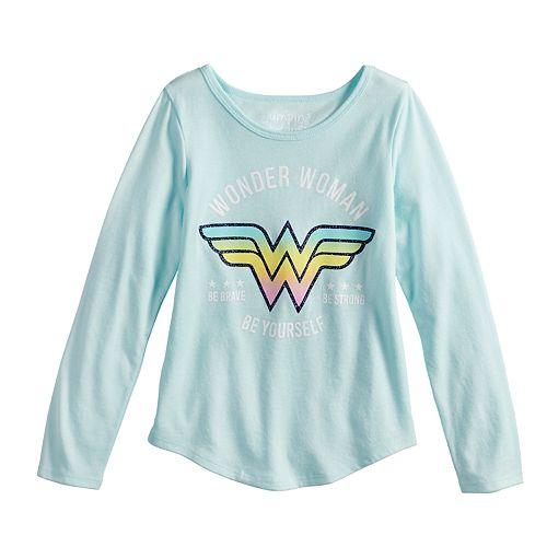 5d4e24e9 Girls 4-10 Jumping Beans® Wonder Woman