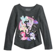 "Girls 4-10 Jumping Beans® My Little Pony ""Brave Girls Club"" Graphic Tee"