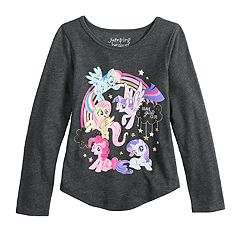 Girls 4-10 Jumping Beans® My Little Pony 'Brave Girls Club' Graphic Tee