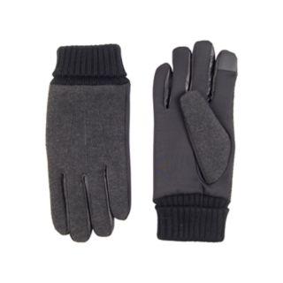 Men's Dockers® InteliTouch Touchscreen Wool-Blend Gloves