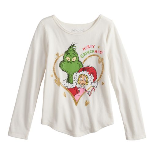 Girls 4 10 Jumping Beans Dr Seuss The Grinch Cindy Lou Who