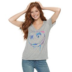 Disney's The Nightmare Before Christmas Juniors' Jack Watercolor Tee