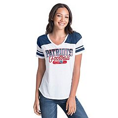 Women's New Era New England Patriots Burnout Tee