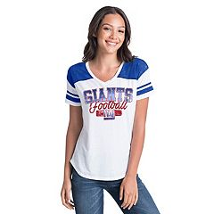 Women's New Era New York Giants Burnout Tee