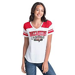 Women's New Era Tampa Bay Buccaneers Burnout Tee