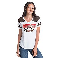 Women's New Era Cleveland Browns Burnout Tee