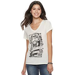 Disney's The Nightmare Before Christmas Juniors' 'Simply Meant to Be' Tee