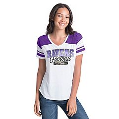 Women's New Era Baltimore Ravens Burnout Tee