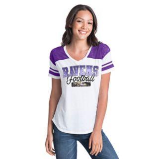 Women's New Era Baltimore Ravens Burnout Tee