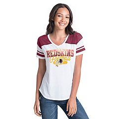 Women's New Era Washington Redskins Burnout Tee