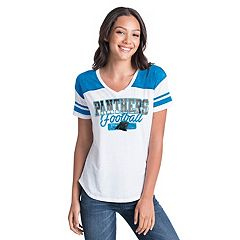 Women's New Era Carolina Panthers Burnout Tee