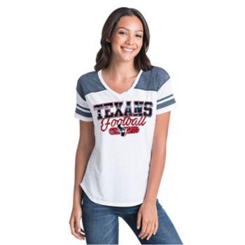 Women's New Era Houston Texans Burnout Tee