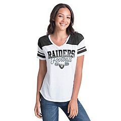 Women's New Era Oakland Raiders Burnout Tee