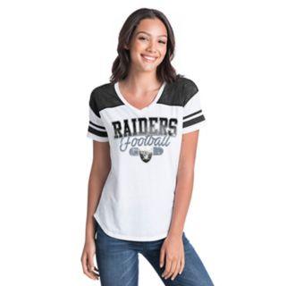 Women's New Era Oakland Raiders Burnout Tee